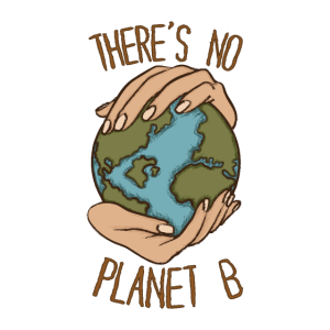 there's no planet b erde klimawandel