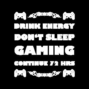 Gamer Spieler Gaming Video Spiele Energy Geschenk