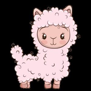 Alpaka Baby Süß Kind Sweet