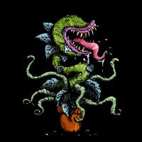 Carnivore Flower Design - fleischfressende Pflanze
