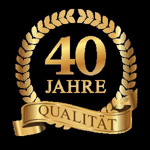 40. Geburtstag Jahre Qualität