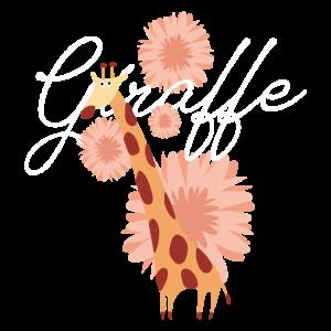 Giraffe_Blumen