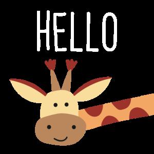 Giraffe_Hello
