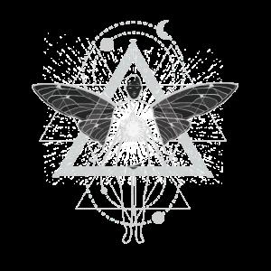 Geometrie Fee Astral Fantasie Motiv