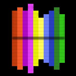 Buntes Testbild in Modern - Colorful test pattern