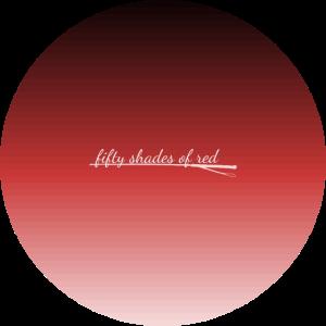 50 shades of red- Farbverlauf in 50 Rottönen