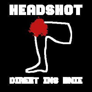 Headshot direkt ins Knie