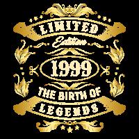 1999 - Geschenk T-Shirt für den 20. Geburtstag