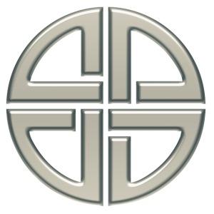 Schildknoten, Keltischer Knoten, Thor Symbol