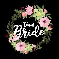Team Bride - Junggesellinnenabschied - Hochzeit