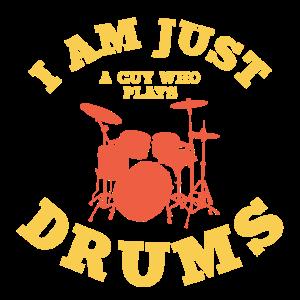 Schlagzeug Schlagzeuger Dummer Geschenk
