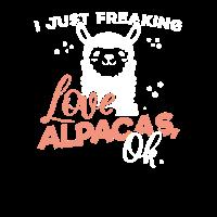 Ich liebe Alpakas - Alpaka Liebe