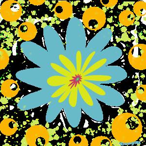 JW XXX Blue Flower Power