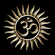 Motiv ~ Om Sonne, Buddhismus, Yoga, Mantra, Meditation