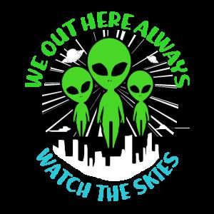 Aliens Geschenk Ufo Außerirdisch Space Mars Kosmos