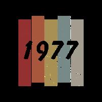 1977 Geburtstagsgeschenk Baujahr Geburtsjahr 77