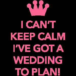 Hochzeit zu planen