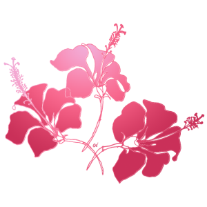 Flowers in Coral