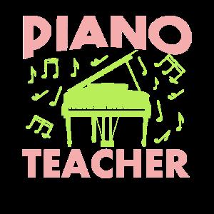 Worlds best piano teacher - bester Klavierlehrer -