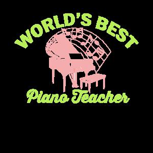 Worlds best paino teacher - bester Klavierlehrer -