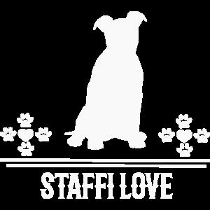 Staffi Love - Staffordshire Terrier