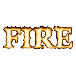 Fire - Feuer rote Flammen