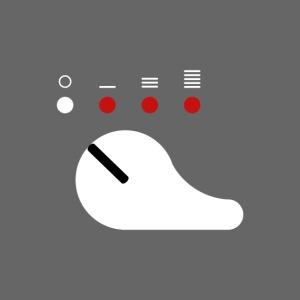 Sélecteur de tir blanc (Scorpion)
