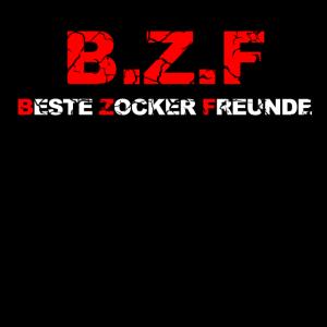B Z F Beste Zocker Freunde Spieler Gamer Geschenk