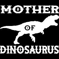 Mutter Dinosaurier Silhouette