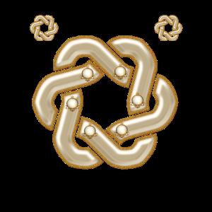 Wunderbarer dekorativer keltischer Knoten