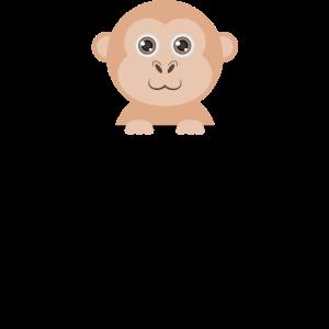 Pocket Monkey - Taschen Affe