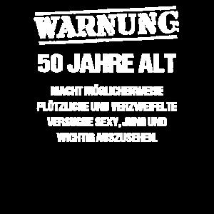 Warnung 50 Jahre alt, 50. Geburtstag Humor, 1969