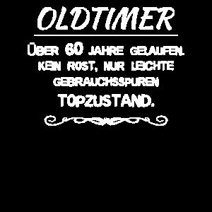 60. Geburtstag Humor, Oldtimer 60 Jahre Topzustand