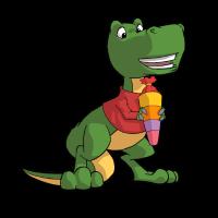 Dino Erste Klasse Einschulung Geburtstag T-Rex