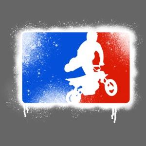 Pit bike's rider