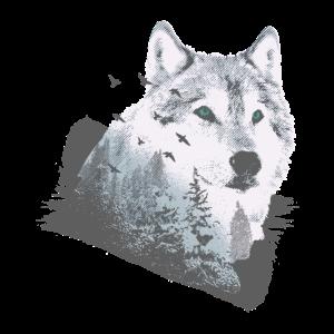 Wolf der Wildnis