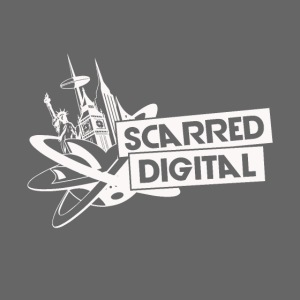 SCARRED DIGITAL WHITE TRA