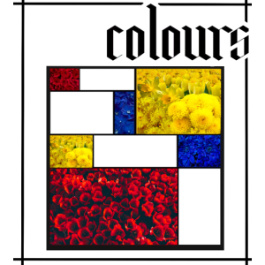 colours Mondrian art artsy vintage 90s fashion