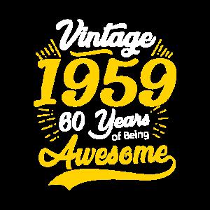 60er Geburtstag 1959