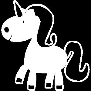 Einhorn Pferd für Kinder