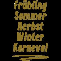 Karneval Fasching 11.11 5 Jahreszeit Shirt