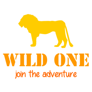 Wild One - join the adventure - Lion - Löwe - Gnu