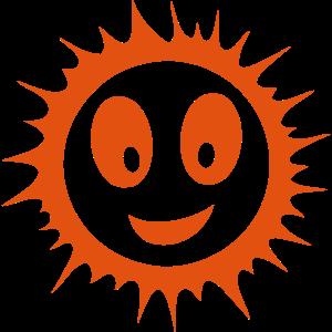 Lächeln Sonne