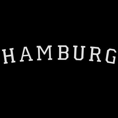 Hamburg Germany (Schwarz/Weiß) - Hamburg T-Shirts, Geschenke und Geschenkideen für Hamburgerinnen und Hamburger aus Germany. - Stadt Hamburg,Hansestadt Hamburg,Hamburger Hafen,Hamburger,Hamburg Logo,Hamburg Geschenkidee,Hamburg Geschenke,Hamburg Geschenk,Hamburg Germany,Hamburg Design,Hamburg,HH,Elbe,Alster