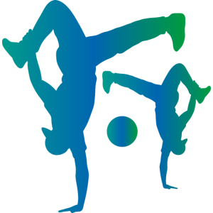 Breakdancer Silhouette B-Boying Geschenk