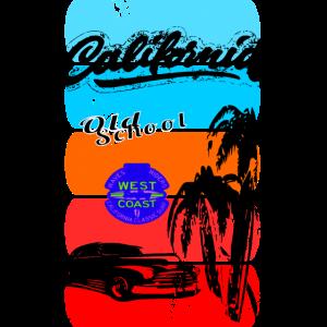 Poster Retro California