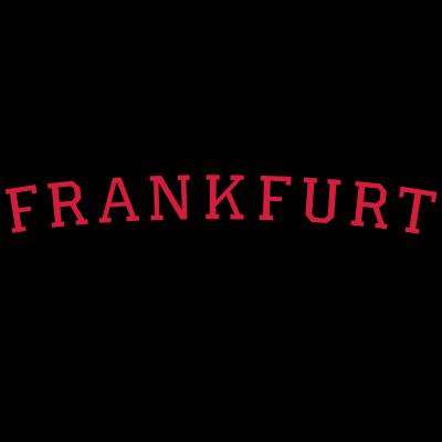 Frankfurt Germany Rot - Frankfurt Germany Design für Frankfurter. Zweifarbig Schwarz/Rot. - international uni universität hochschule college campus,international,germany,german,frankfurter,frankfurt an der oder,frankfurt am main,frankfurt,ffm,deutschland,deutsch