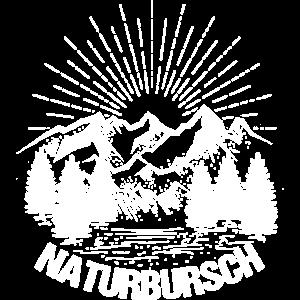 Naturbursch Berge Natur Geschenk