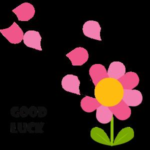 good luck, flowercontest