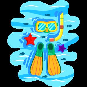 Schnorcheln Tauchen Diving Snorkeling Flossen